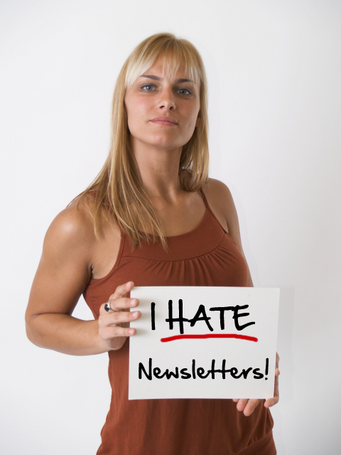 I Hate Newsletters - Email Marketing Tips for Small Business